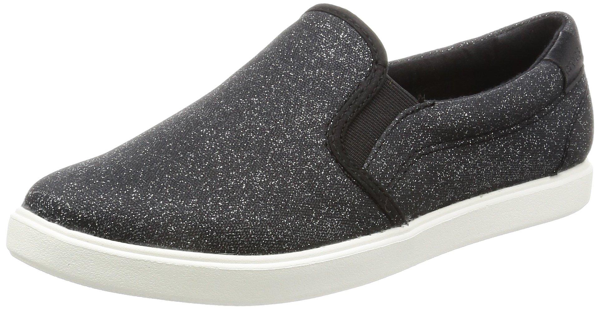Crocs Women's Citilane Slip-on Fashion Sneaker, Black Shimmer, 8 M US