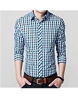 Special Beauty Handsome,Slim NEW Autumn New Classic Long Sleeve Plaid Men Shirt Slim Fit Mens Check Cotton Shirts Casual Dress Shirt 4XL Cool