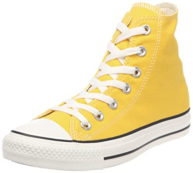 ac74e324c9fd Converse Damen Schuhe All Star Hi Gelb Sneakers Chucks Größe 36