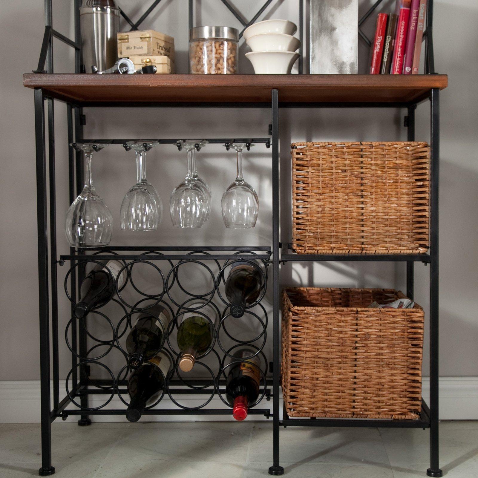 Belham Living Solano Bakers Rack with Baskets by Belham Living (Image #3)