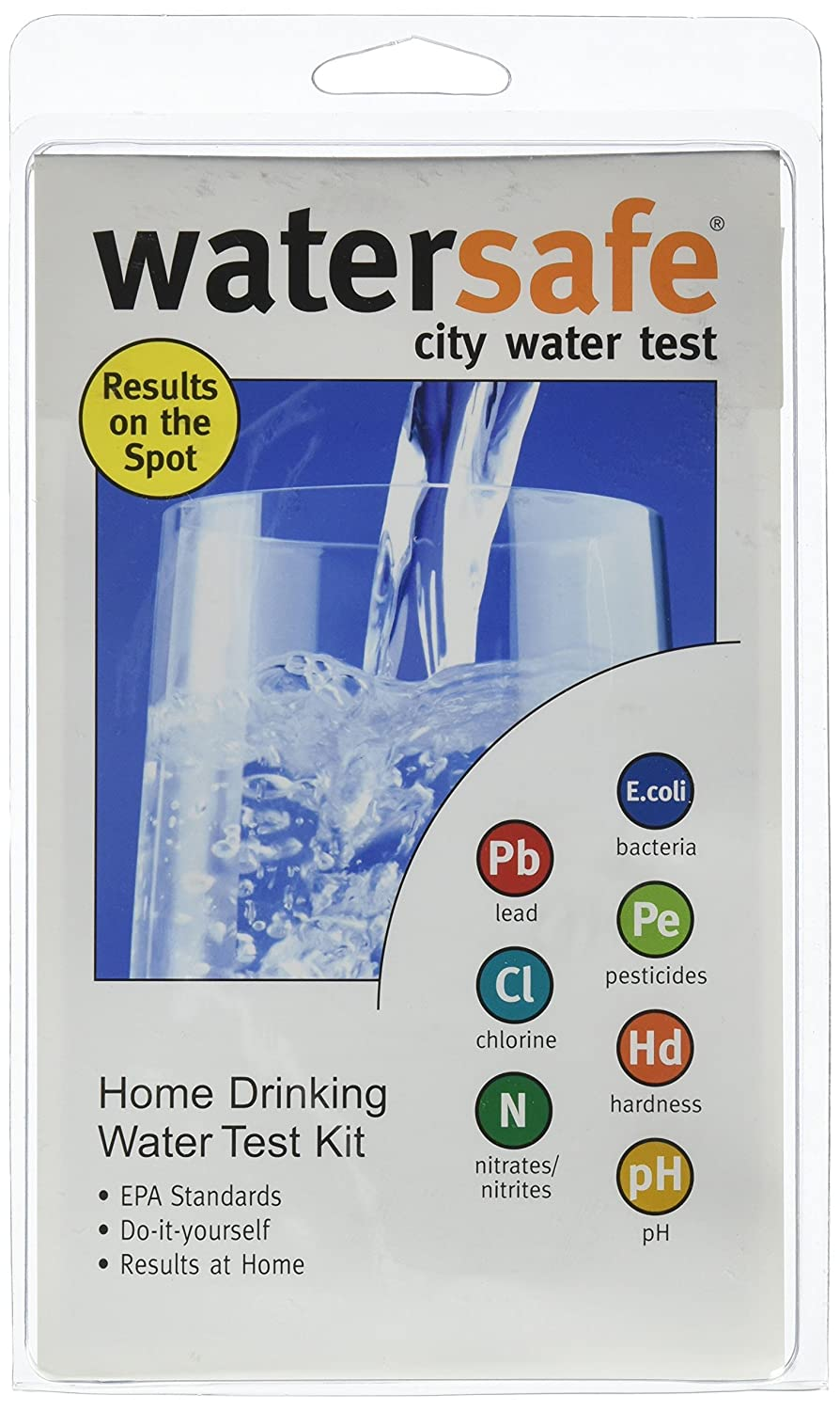 Home Drinking Water Amazoncom Watersafe Ws425b Drinking Water Test Kit Water Safe