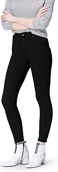 Womens Skinny Mid Rise Stretch Jeans Brand find