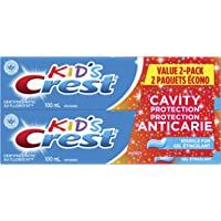 Crest Kid's Toothpaste, Cavity Protection Sparkle Fun Gel, Pack Of 2, 100 Milliliters