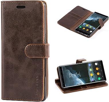 Mulbess Funda Samsung Galaxy Note 8 [Libro Caso Cubierta] [Vintage ...