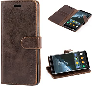 Mulbess Funda para Samsung Galaxy Note 8, Funda Cartera Samsung ...
