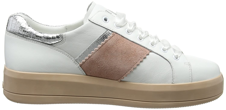 Liu Jo Women/'s Sneaker Bianca Trainers White//Pink