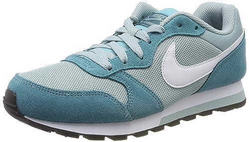 Nike MD Runner 2 (GS) Zapatillas para niña. multicolor