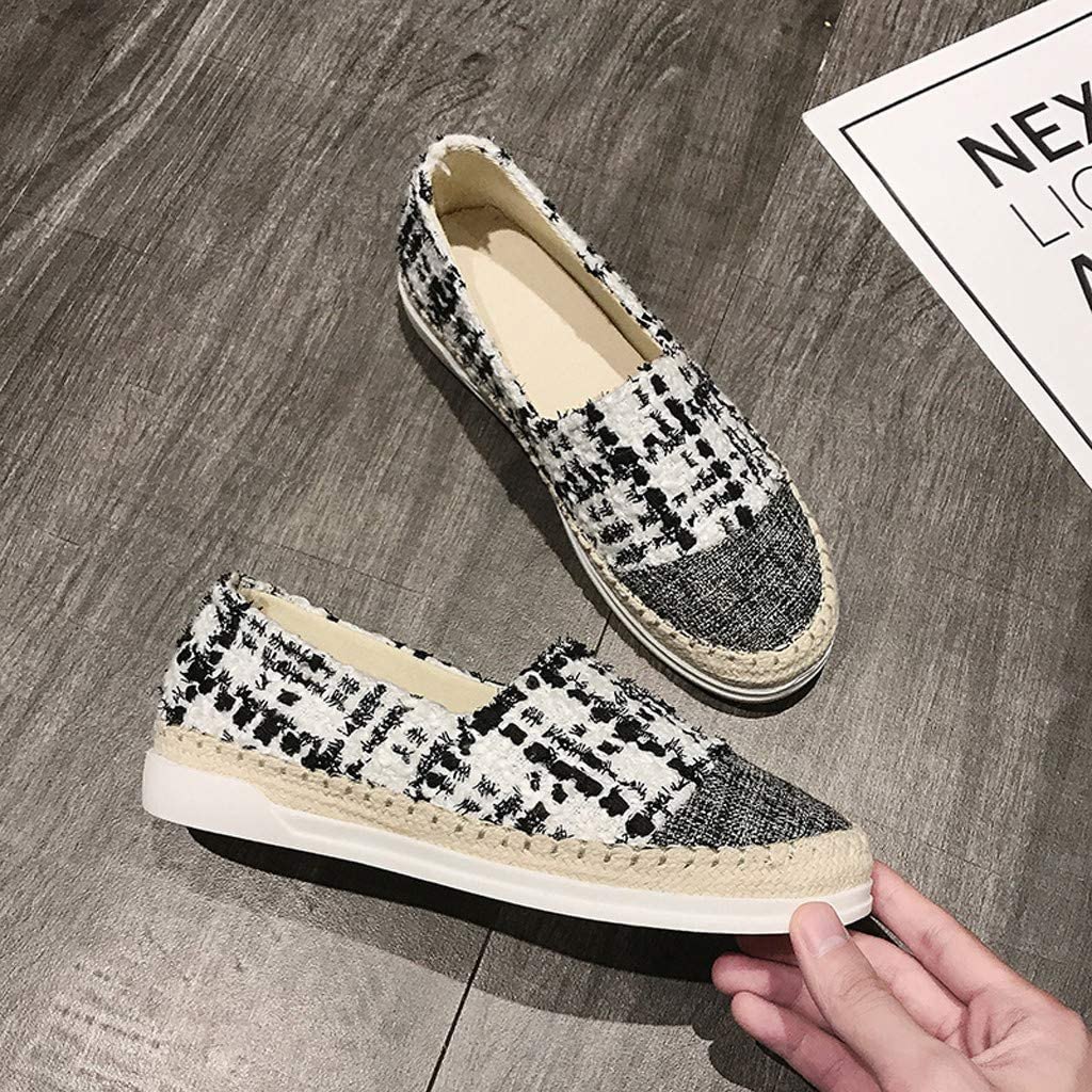 Women Canvas Shoes Casual Shoes Ladies Fashion Solid Casual Low Ankle Lace-up Flat Breath Freely Shoes