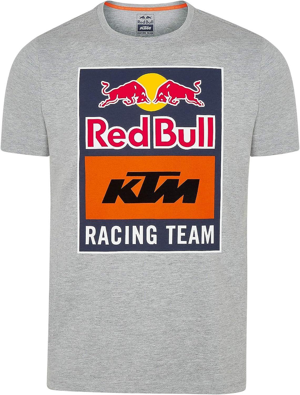 Red Bull KTM Emblem T-Shirt, Hombres Camisa Manga Corta, KTM Factory Racing Original Ropa & Accesorios