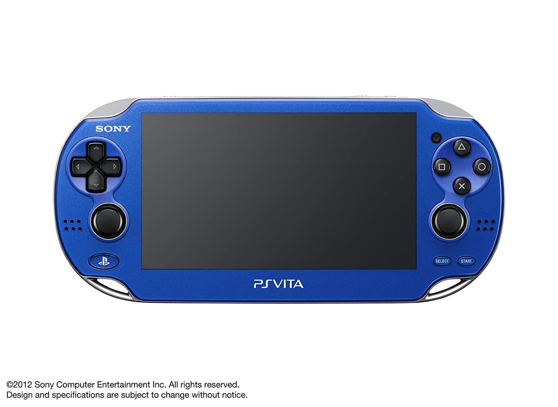 Amazon.com: PlayStation Vita, WiFi Sapphire Blue, Japanese ...