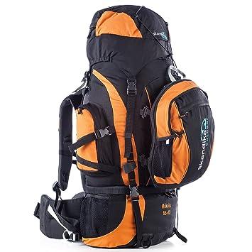 6a5797062ec1e SKANDIKA Makalu 85+15 Sac à Dos Trekking randonnée Marche avec Daypack 15  litres Noir
