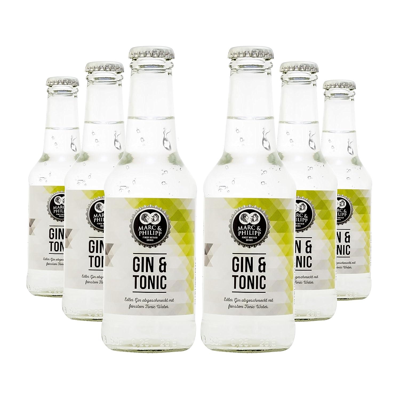 Marc&Philipp - Gin Tonic 6x 250ml Longdrinks - frisch aus der ...
