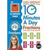 10 Minutes a Day Fractions (Made Easy Workbooks)