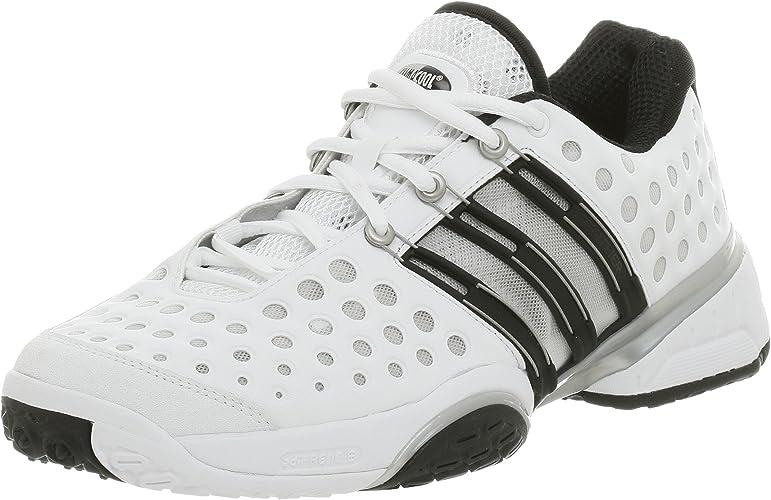 | adidas Men's CC Feather III Tennis Shoe, White