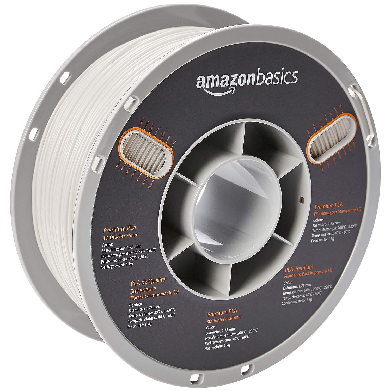 AmazonBasics - Filamento de PLA de alta calidad para impresora 3D ...