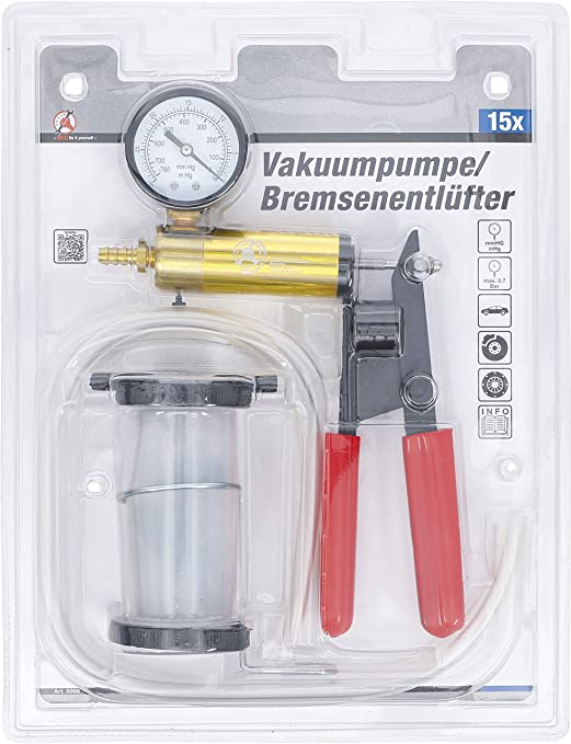 max Vakuumpumpe//Bremsenentlüfter 0,7 bar