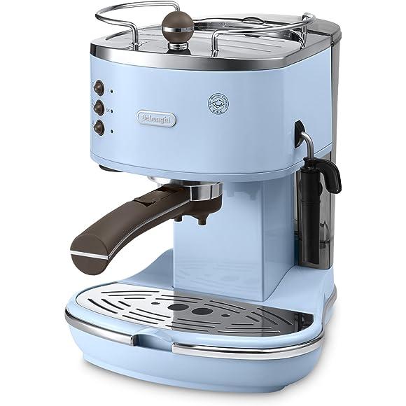 De'Longhi Vintage Icona ECOV310.AZ Duck Egg Blue Pump Espresso and Cappuccino Machine