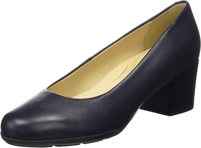 TALLA 36 EU. Geox D Annya Mid B, Zapatos de Tacón para Mujer