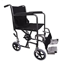 Angel Mobility Lightweight Folding Transit Transfer Travel Portable Wheelchair (AMW0011)