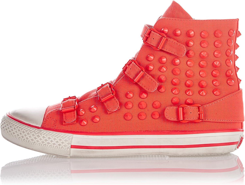 Ash Zapatillas Altas Virus Naranja EU 37: Amazon.es: Zapatos y complementos