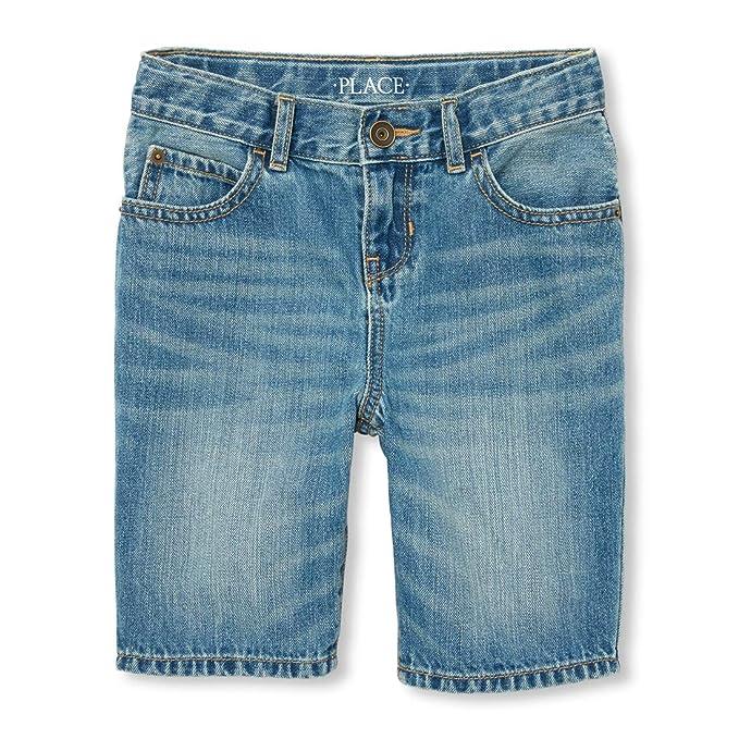df1163e2a9 The Children s Place Pantalones Cortos de Mezclilla para niños ...