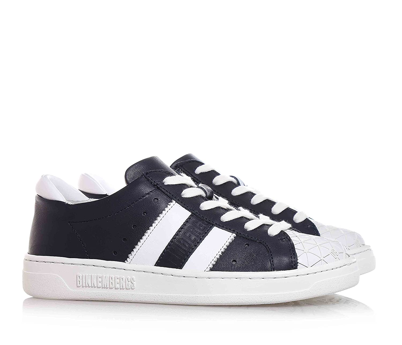 Bikkembergs Shoe Blue STRINGATA, Leather, With Rubber Tip, children, Boys  Blue Size: 1: Amazon.co.uk: Shoes & Bags