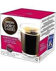 NESCAFÉ Dolce Gusto Caffe Americano 16 capsules (Pack of 3, Total 48 Capsules,