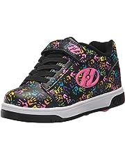 Heelys Girls' Dual up X2 Sneaker Black/Multi/Hands 6 Medium US Little Kid