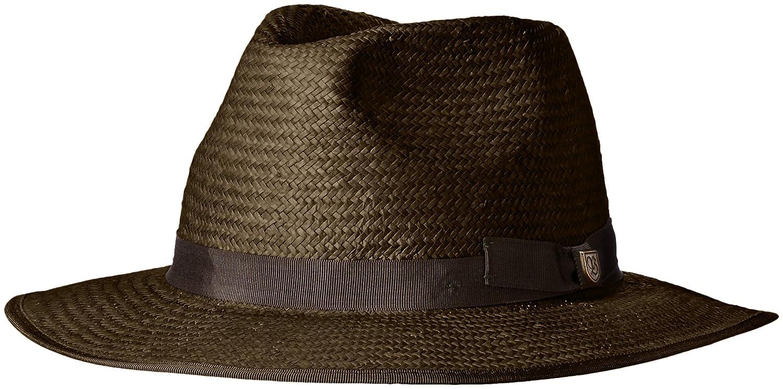 e0a34c2915a Brixton Men s Maddock Fedora Hat Hat Brixton Young Men s 214-00243 ...