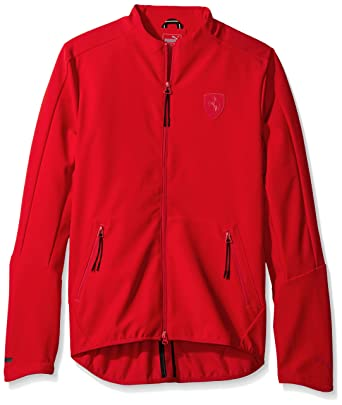 f7050e9ce1 PUMA Men's Ferrari T7 Jacket at Amazon Men's Clothing store: