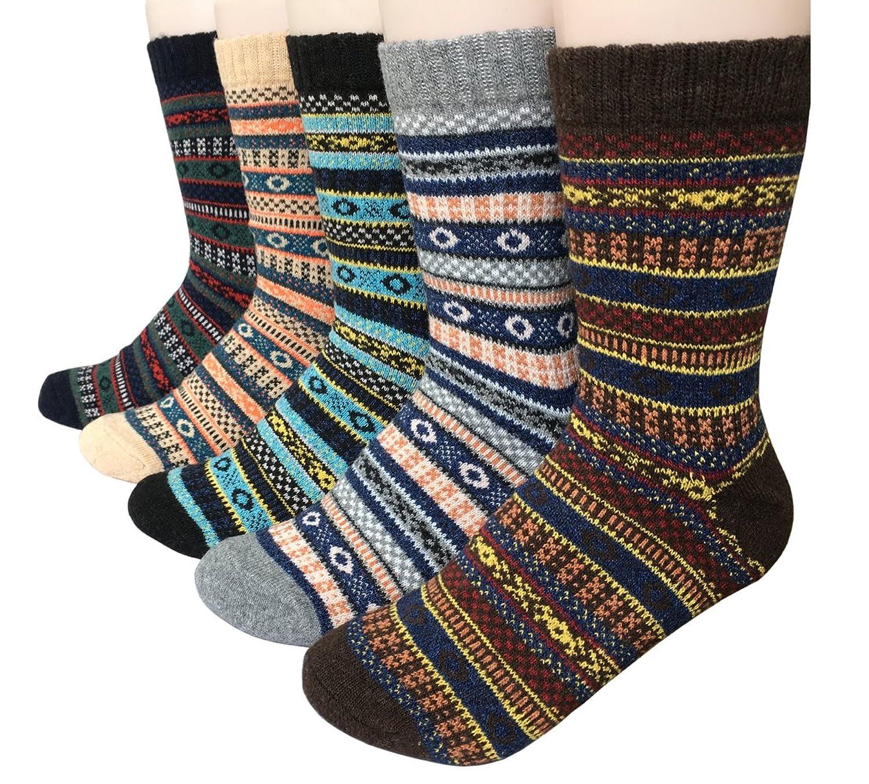 Vellette Calcetines termicos ricos algodon para Hombre Muje Ideales para invierno EU