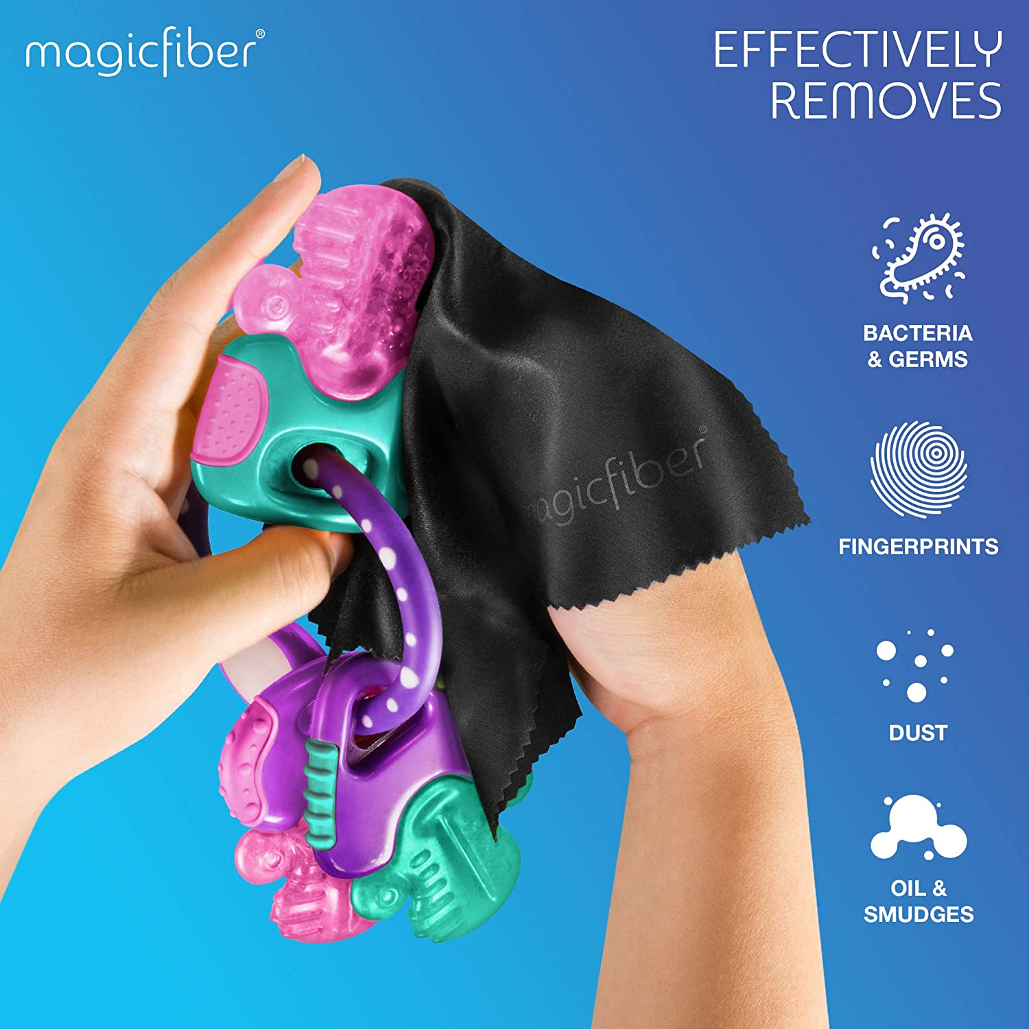 EXTRA LARGE PACK MagicFiber Microfiber Cleaning Cloths