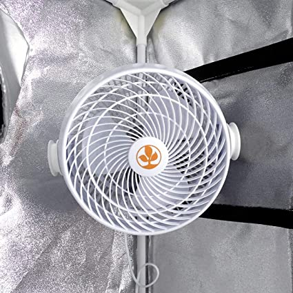 Ventilador de aire con clip pinza 18cm 30W Secret Jardin (Monkey ...