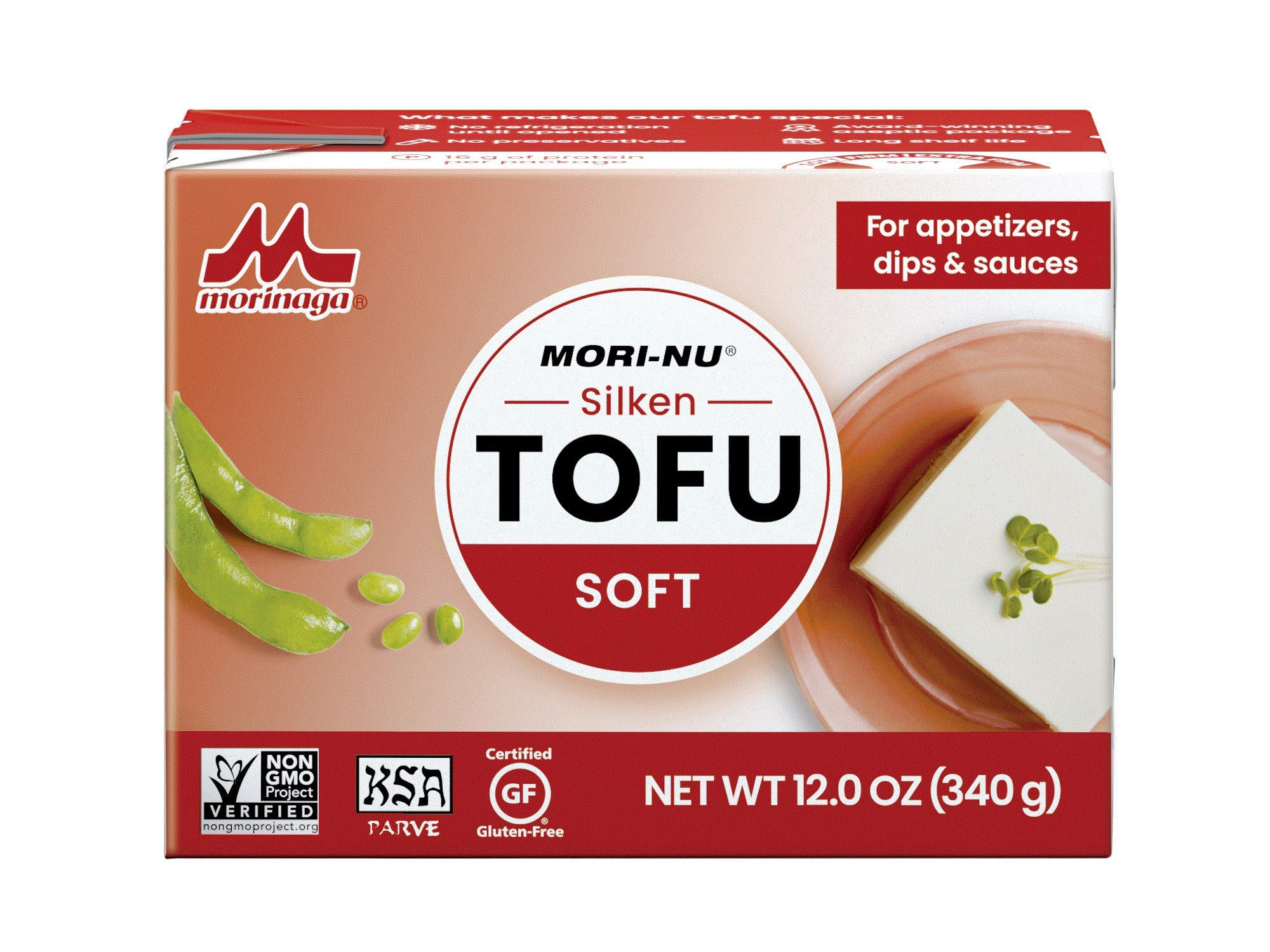 Mori-Nu Silken Soft Tofu 12oz x 12 Pack