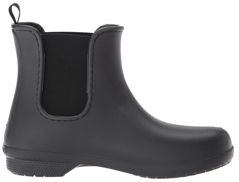 Amazon.com | crocs Women's Freesail Chelsea W Rain Boot | Rain Footwear