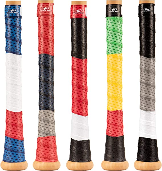 Details about  /LIZARD SKINS Baseball Softball BAT HANDLE Sticky Grip Colored TAPE WRAP 1.8 MM