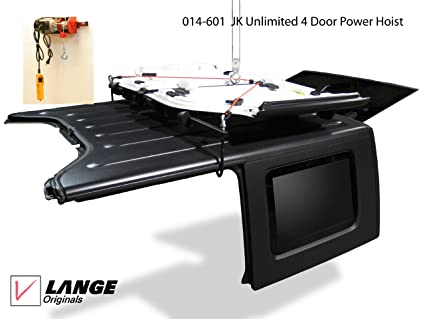 014 601 Lange Originals POWER Hoist A Top Hard Top, Hardtop Jeep Wrangler  Unlimited