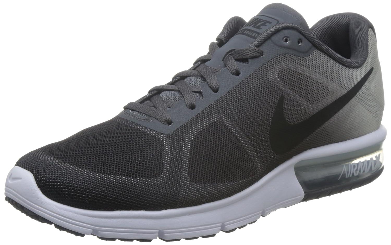 Nike Air Max Sequent Dark GreyPure PlatinumMetallic PlatinumBlack Mens Running Shoes