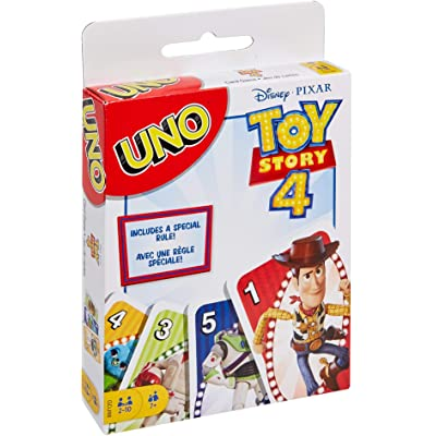 UNO Toy Story 4 Card Game: Toys & Games