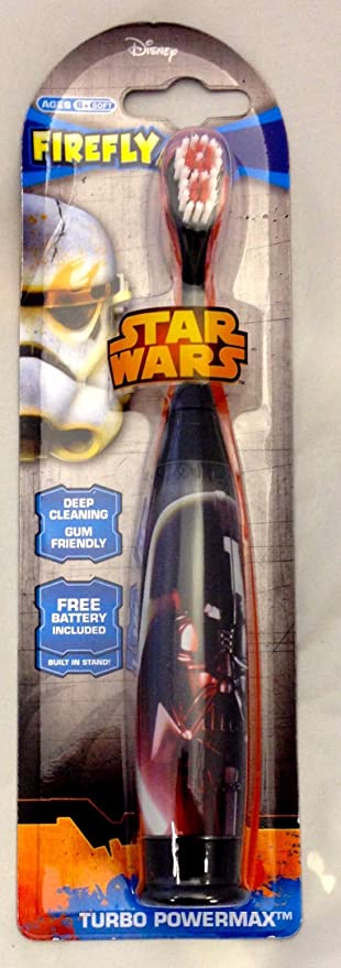 Disney Star Wars Darth Vader recargable cepillo de dientes: Amazon.es: Hogar