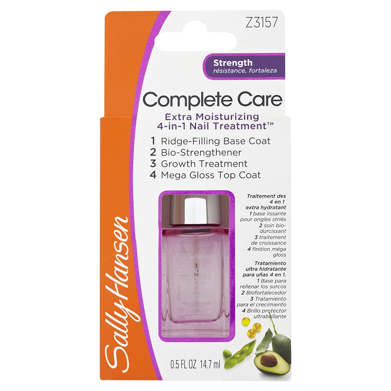Amazon.com : Sally Hansen Complete Care Extra Moisturizing ...