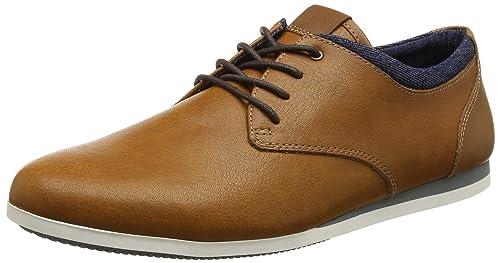 Hombre EU es y Marrón 28 42 Zapatos complementos Zapatos Aauwen Aldo Derby Cognac Amazon para I41yaw