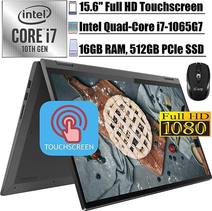 2020 Latest Lenovo IdeaPad Flex 5 15IIL05 15 2 in 1 Laptop15.6