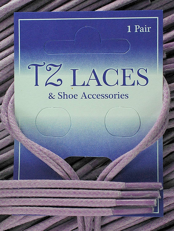 TZ Laces/® Branded 2.5mm wax shoelaces shoe boots Brouges