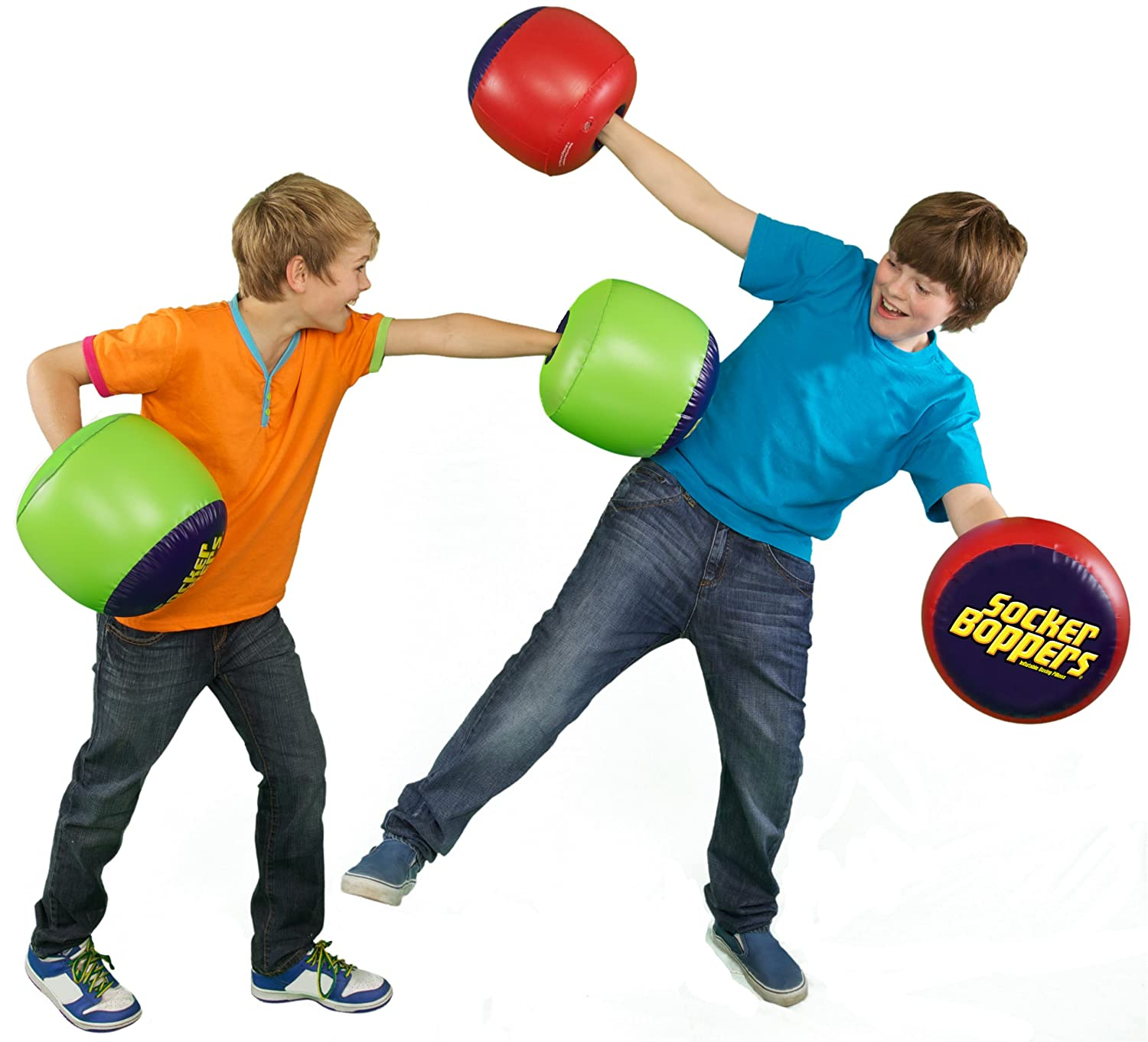 Socker Boppers Uk: Wicked Socker Boppers Inflatable Boxing Pillows (Assorted