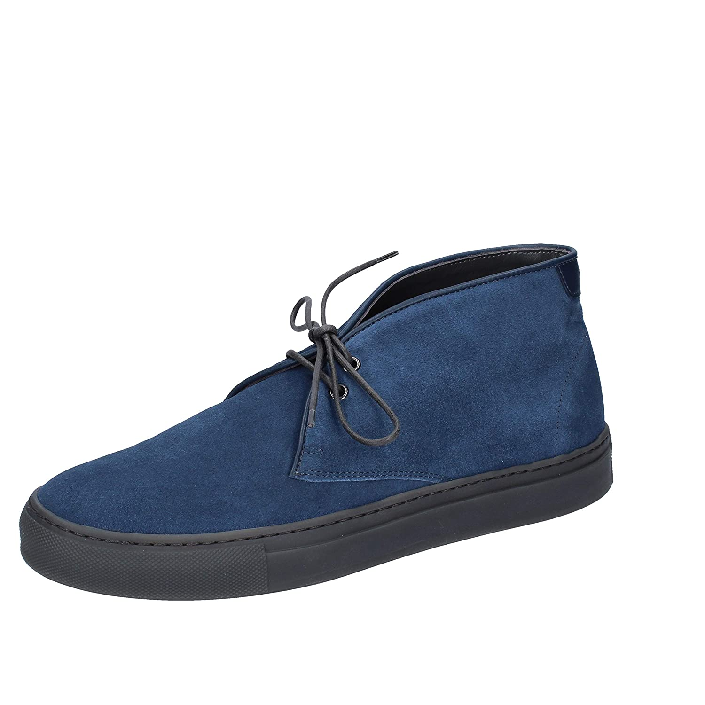 75c6a61d6485 Alberto Guardiani Desert Boots Homme Daim Bleu