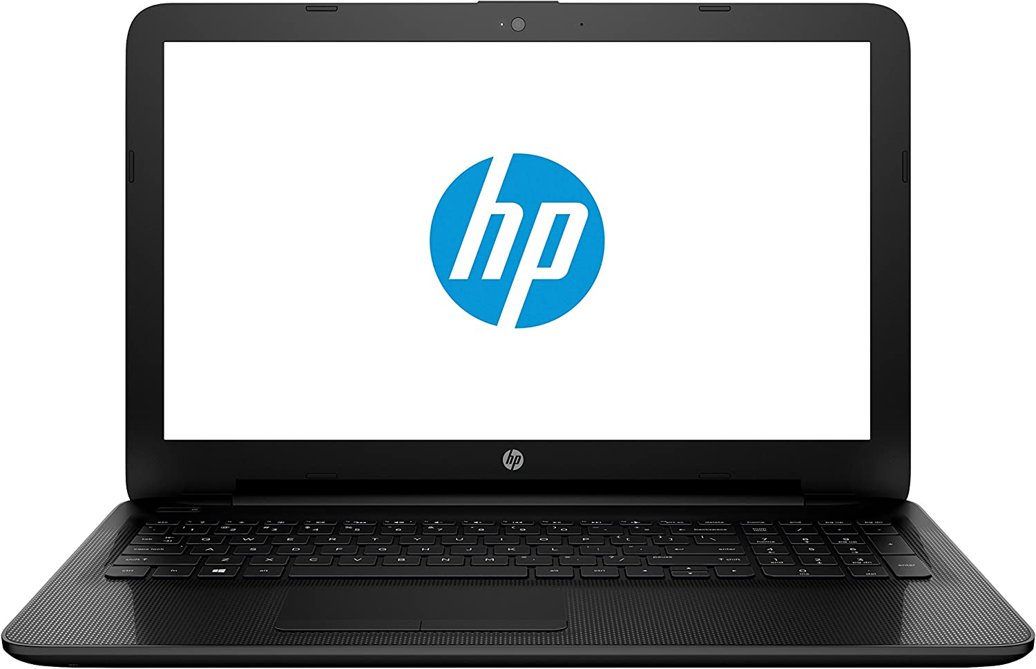 "HP 15-ac137nr 15.6"" Laptop Computer - Textured Diamond Pattern in Black"