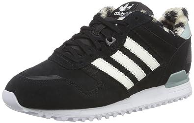 timeless design 77ff0 c073f adidas Originals Damen ZX 700 Sneakers, Schwarz (Core Black Off White Mist