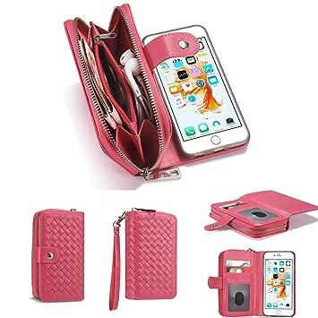 65ba7fdf451e Wallet Purse Case for iPhone 6/6S Plus 5.5 inch, VOYOMO(TM)