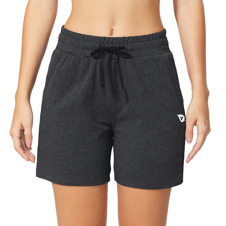 Baleaf Womens 5 Activewear Yoga Lounge Shorts with Pockets